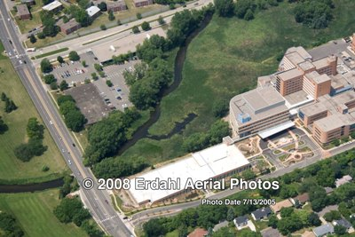 Methodist Air Photo 2005