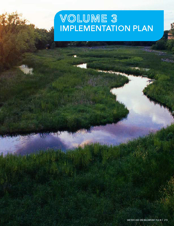 Watershed Management Plan Volume 3