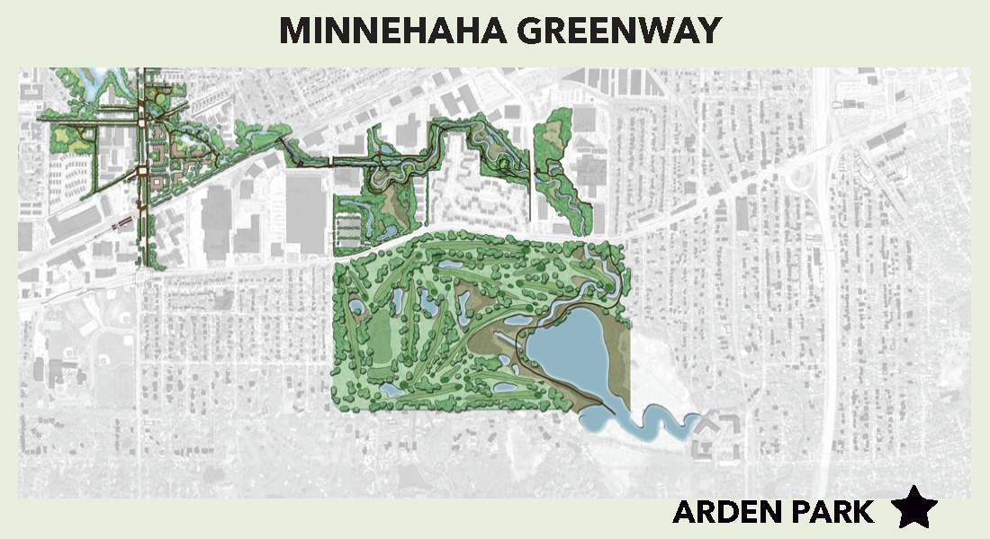 Minnehaha Creek Greenway Map