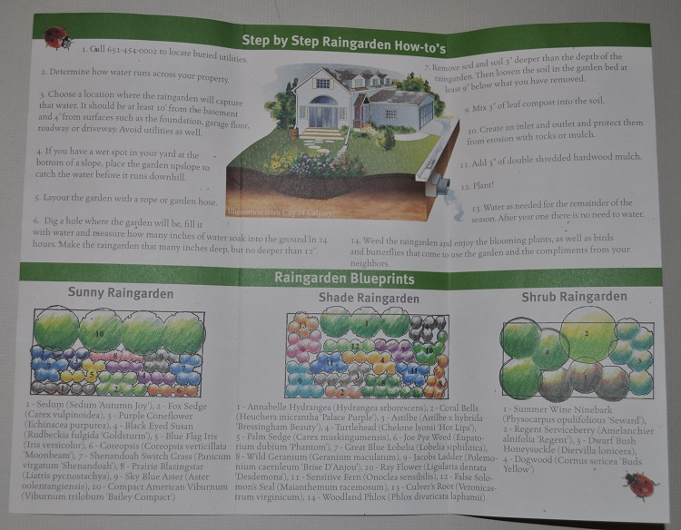 raingarden brochure inside