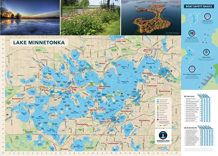 Lake Minnetonka map