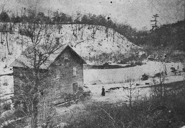 1865 Ard Godfrey Mill on Minnehaha Creek in Minneapolis
