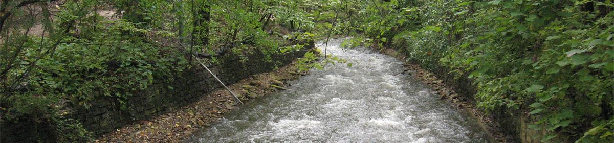 Stabilizing the banks of the Minnehaha Falls and Glen
