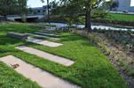Steps down to Minnehaha Creek