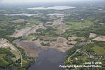 Aerial of Six Mile Marsh Prairie, Erdahl Aerial Photos