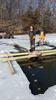 Carp removal on Lake Wassermann