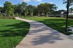 Sidewalk at Cottageville Park
