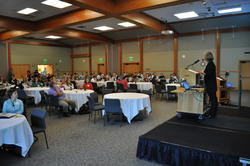 People attending the Clean Water Summit