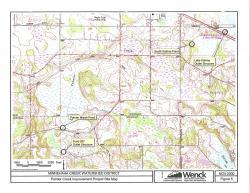 Painter Creek Improvement Project Site Map