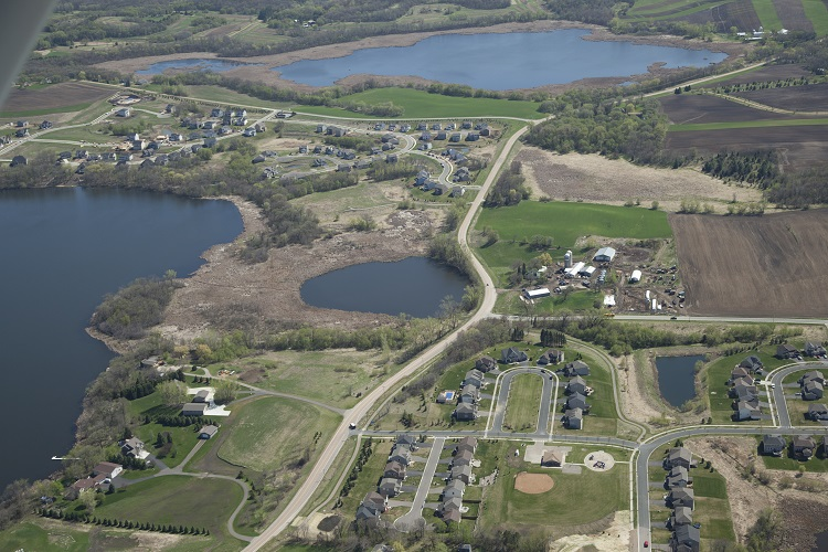 Aerial photo of Wassermann West Park